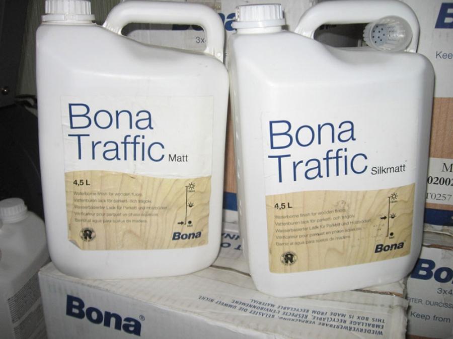 Bona traffic - время высыхания между слоями