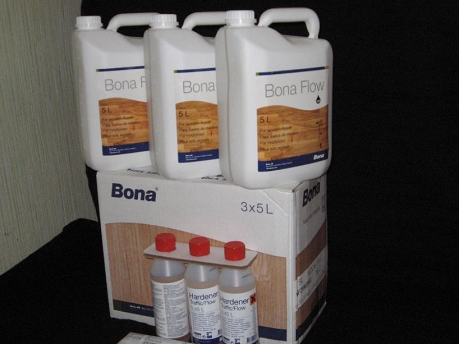 Как использовать химию Бона - Bona