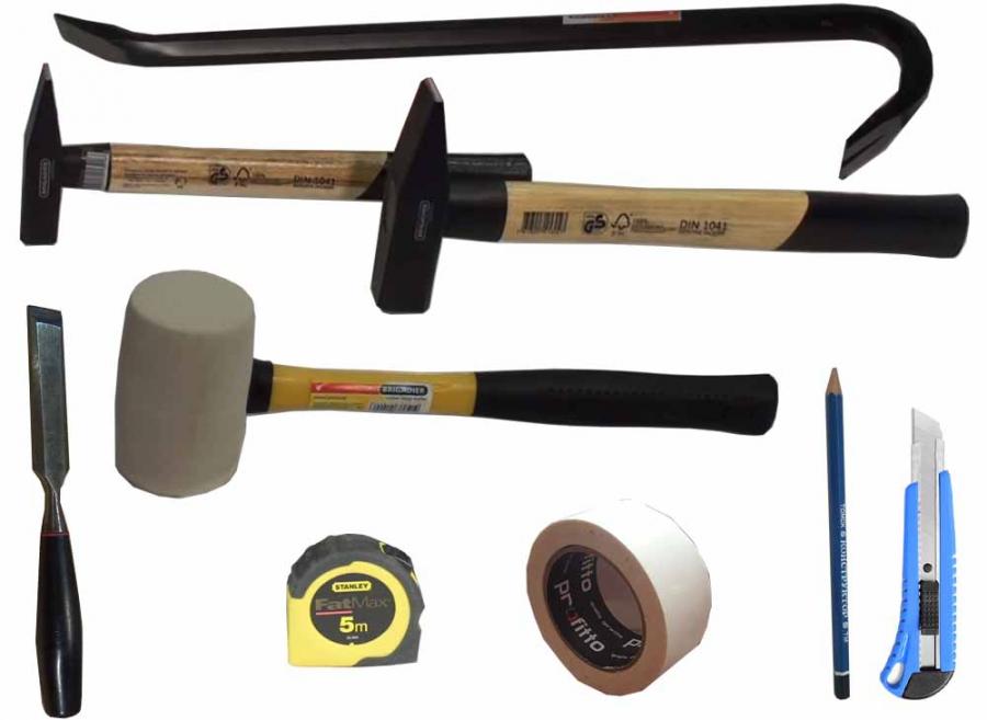 Инструмент для самостоятельной укладки паркетной доски