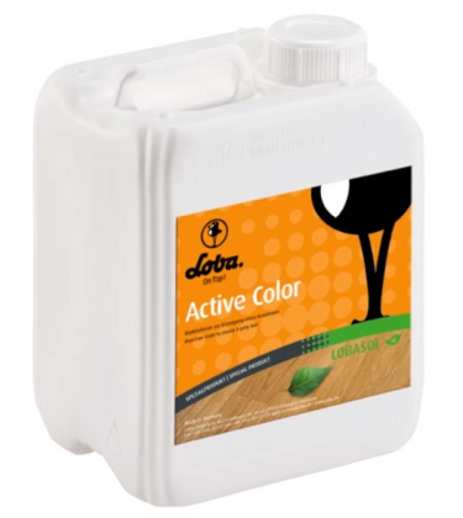 Lobasol Active Color - морилка для окраски древесины